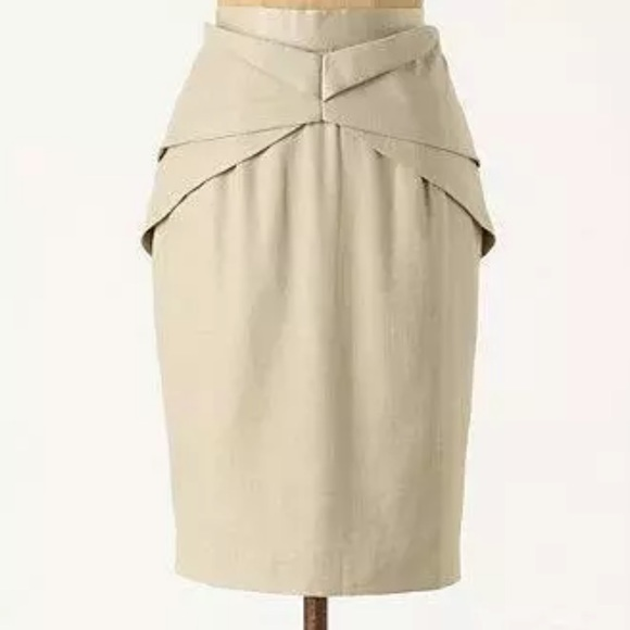 Anthropologie Dresses & Skirts - Anthro Girls from Savoy Yumi Origami Pencil Skirt